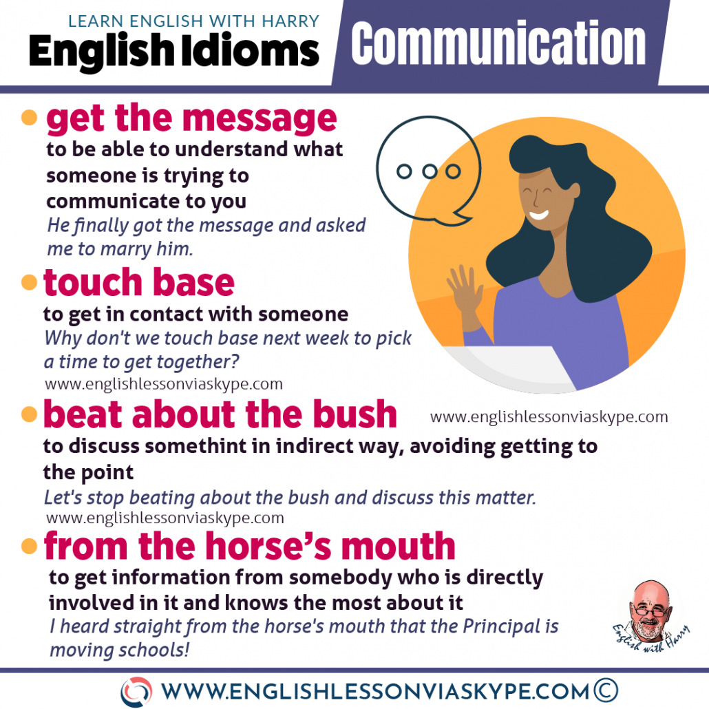 15 English Idioms relating to communication. To spill the beans meaning. Improve English speaking skills at www.englishlessonviaskype.com #learnenglish #englishlessons #tienganh #EnglishTeacher #vocabulary #ingles #อังกฤษ #английский #aprenderingles #english #cursodeingles #учианглийский #vocabulário #dicasdeingles #learningenglish #ingilizce #englishgrammar #englishvocabulary #ielts #idiomas