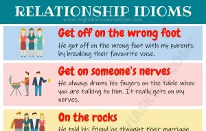 12 English Idioms about Relationships