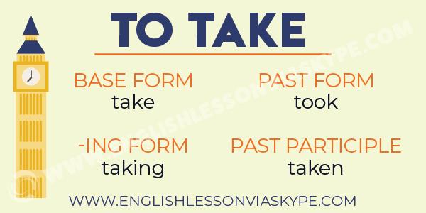 English Verb to Take. English expressions with take. #learnenglish #englishlessons #englishteacher #aprenderingles #ingles #englishverbs
