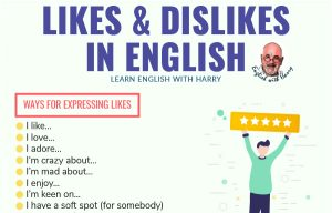 Expressing Likes and Dislikes in English