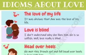 12 English Love Idioms and Phrases. How to talk about love in English. #learnenglish #ingles #idioms #vocabulary #love #valentinesday