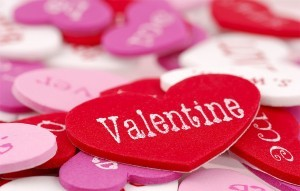 Valentine's Day in the UK – be my Valentine