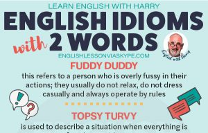 Common English Idioms with Two Words