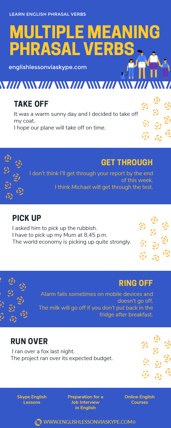 English phrasal verbs with multiple meanings. From intermediate to advanced English with www.englishlessonviaskype.com #learnenglish #englishlessons #EnglishTeacher #vocabulary #ingles #английский #aprenderingles #english #cursodeingles #учианглийский #vocabulário #dicasdeingles #learningenglish #ingilizce #englishgrammar #englishvocabulary #ielts #idiomas