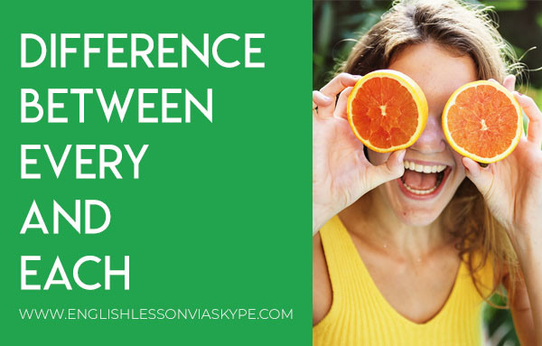 Each vs Every Difference between every and each. www.englishlessonviaskype.com #learnenglish #englishlessons #tienganh #EnglishTeacher #vocabulary #ingles #อังกฤษ #английский #aprenderingles #english #cursodeingles #учианглийский #vocabulário #dicasdeingles #learningenglish #ingilizce #englishgrammar #englishvocabulary #ielts #idiomas