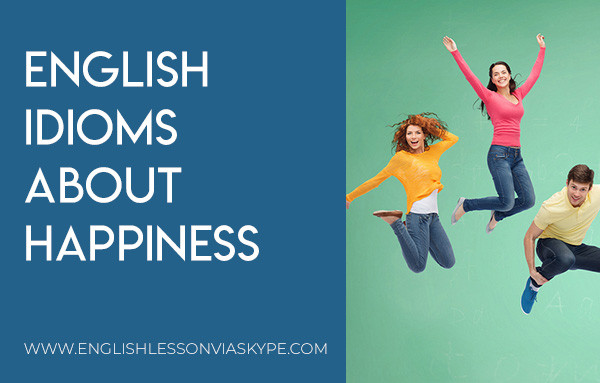 English Idioms about Happiness and Sadness. Intermediate level English learning. Effortless English. #learnenglish #englishlessons #englishteacher #ingles #aprenderingles #englishvocabulary #vocabulary #nuevo