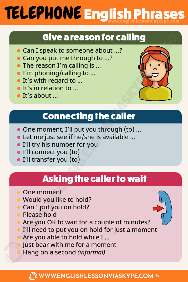 English Telephone Phrases. Telephone English vocabulary. Improve English speaking skills. #learnenglish #englishlessons #englishteacher #ingles #hoctienganh #английский #英语 #영어