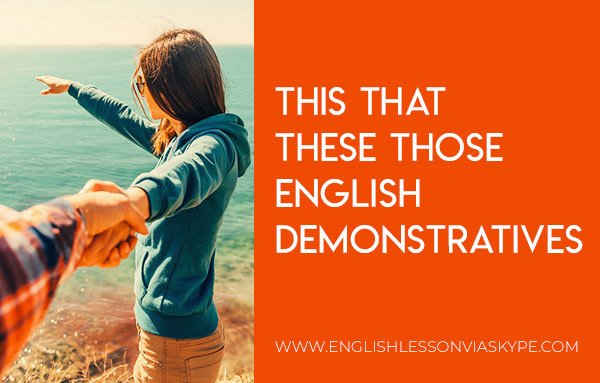 English demonstrative adjectives and pronouns THIS THAT THESE THOSE. #learnenglish #ingles #englishteacher #englishlessons #aprenderingles