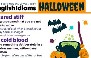 Spooky Halloween Idioms and Expressions