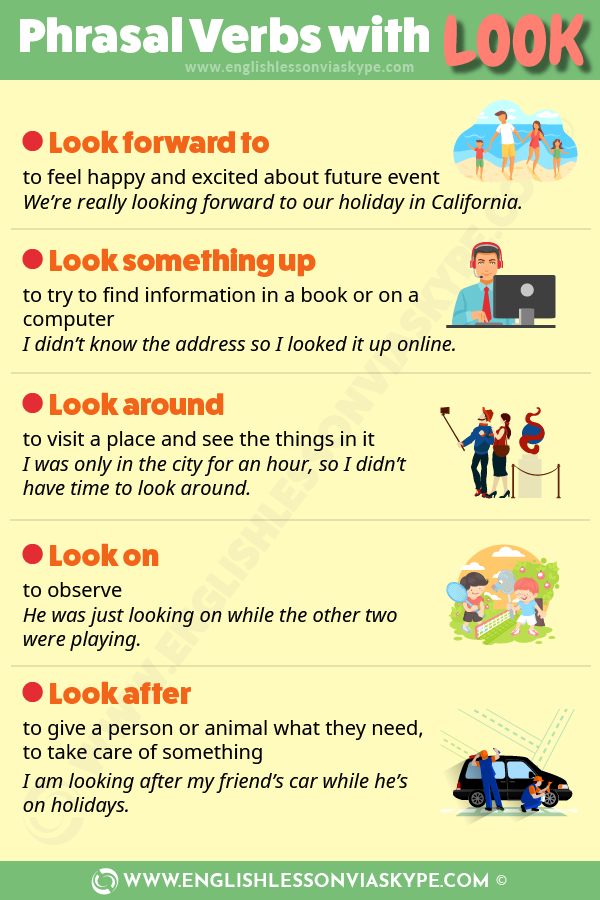 English Phrasal Verbs with Look with meanings. Effortless English. Intermediate level English. #learnenglish #englishlessons #englishteacher #ingles #aprenderingles #phrasalverbs