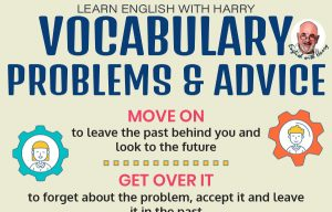 English Vocabulary related to Problems and Advice