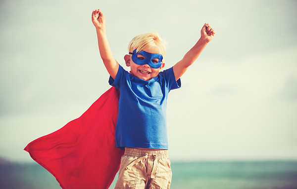 Superhero - learn English words related to courage