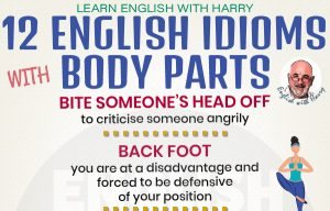 12 Idioms Associated with Our Body Parts