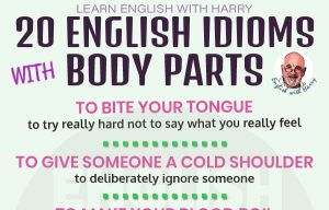 20 English Idioms Related to Body Parts