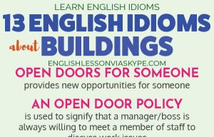 13 English Idioms about Buildings