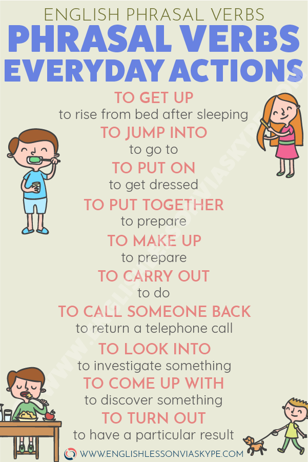 English Phrasal Verbs for Everyday Actions. Learn English with Harry at www.englishlessonviaskype.com #learnenglish #englishlessons #tienganh #EnglishTeacher #vocabulary #ingles #อังกฤษ #английский #aprenderingles #english #cursodeingles #учианглийский #vocabulário #dicasdeingles #learningenglish #ingilizce #englishgrammar #englishvocabulary #ielts #idiomas