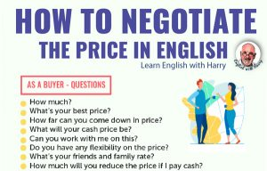 How to negotiate the price in English. Advanced English expressions. Study business English at www.englishlessonviaskype.com #learnenglish #englishlessons