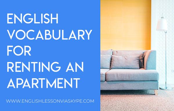 English Vocabulary for renting an apartment. Intermediate level English. #learnenglish #englishlessons #englishteacher #ingles #aprenderingles