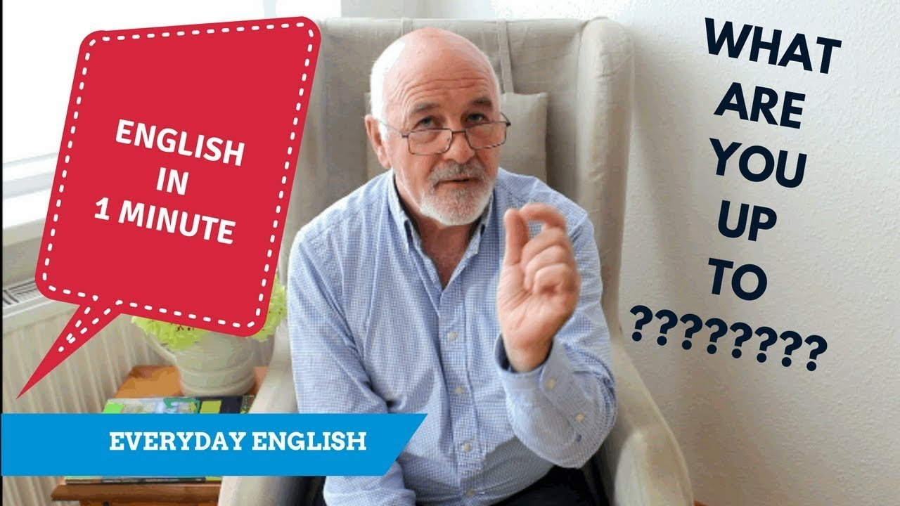 How to speak everyday English - it's up to you