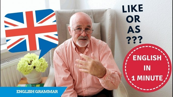 Learn what is the difference between as or like in English