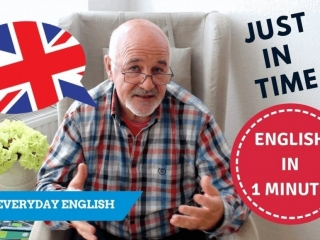 learn to speak everyday English - expressions with Just