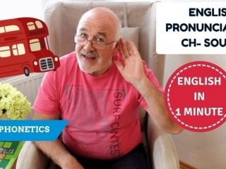 Learn English pronunciation - how to pronounce CH sound