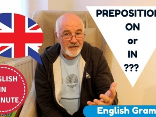 Learn English Grammar - English prepositions connected with transport
