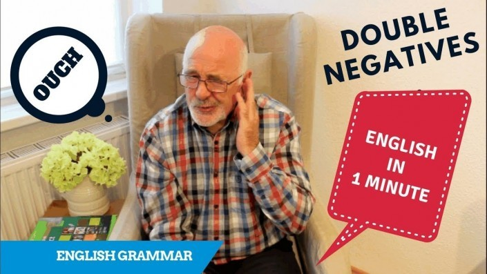 Why you should never use double negatives in English