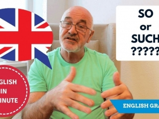 Speak better English - difference between So and Such