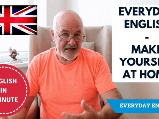 Learning English expressions - Make yourself at home