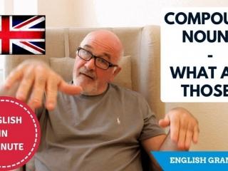 Important English Grammar - Compound Nouns