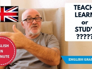 Speak correct English - Teach, Learn or Study