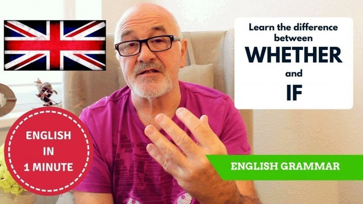 Learn to speak English correctly - Difference between Whether and If