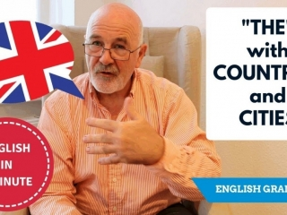 Learn to speak English correctly: English Grammar - definite article The with countries