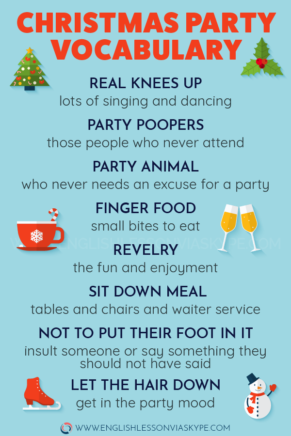 🔴 English Expressions related to Christmas Party. Learn new English words and phrases. #learnenglish #englishlessons #englishteacher #ingles #aprenderingles #englishlanguage