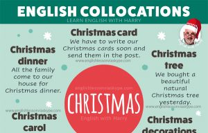 English Phrases connected with an English Christmas