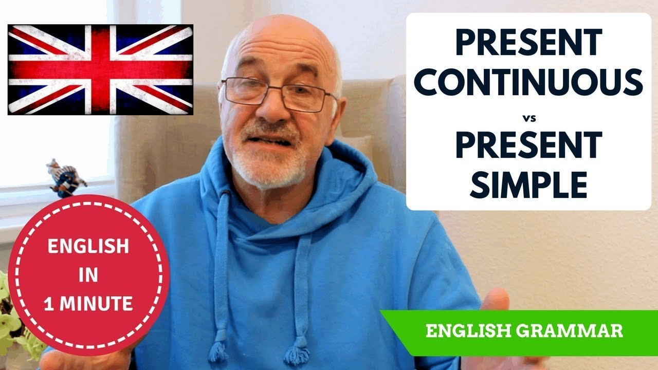What is the difference between Present Continuous and Present Simple