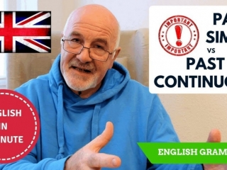 Learning English Grammar - difference between Past Simple and Past Continuous