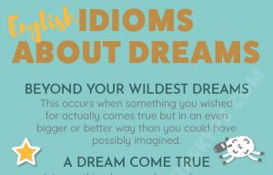 English Idioms related to Dreams