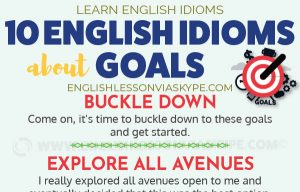 10 English Idioms Related to Goals