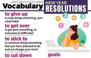English vocabulary: useful English phrases connected with New Year resolutions. Learn English at www.englishlessonviaskype.com #learnenglish #englishlessons #EnglishTeacher #vocabulary #ingles #อังกฤษ #английский #aprenderingles #english #cursodeingles #учианглийский #vocabulário #dicasdeingles #learningenglish #ingilizce #englishgrammar #englishvocabulary #ielts #idiomas