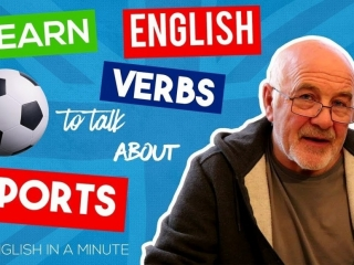 English verbs related to sport