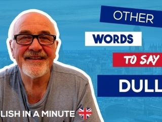 Other words to say dull - talking about the weather in English
