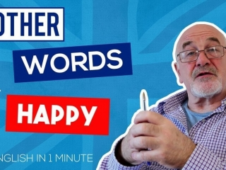 Other words to say HAPPY in English