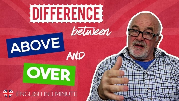 Difference between above and over in English
