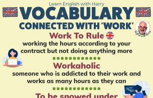 English Expressions Related to Work