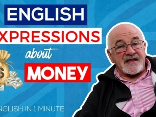 English Expressions about Money - learn to speak better English