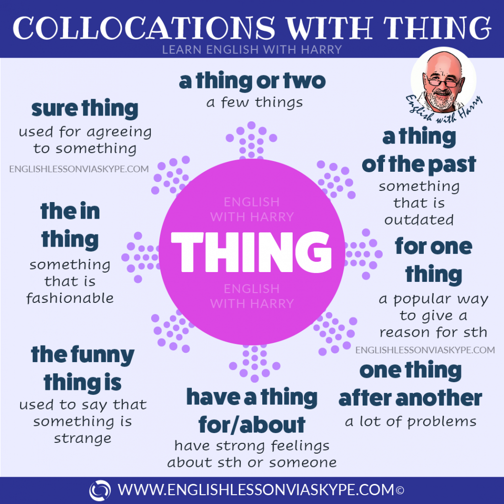 English expressions with the word THING. From intermediate to advanced English with www.englishlessonviaskype.com #learnenglish #englishlessons #EnglishTeacher #vocabulary #ingles #английский #aprenderingles #english #cursodeingles #учианглийский #vocabulário #dicasdeingles #learningenglish #ingilizce #englishgrammar #englishvocabulary #ielts #idiomas