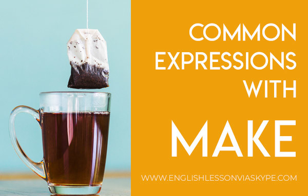 Common expressions with MAKE. Improve your English vocabulary. Intermediate level English. #esl #EnglishTeacher #vocabulary #ingles #อังกฤษ #английский #英语 #영어 #vocabulary #englishlessons