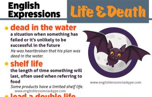 English Expressions About Life and Death